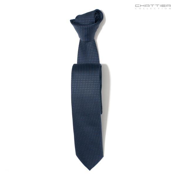 Mėlynas matinės spalvos kaklaraištis